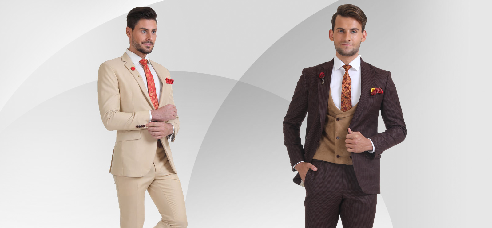 Bandhgala Suit Collection